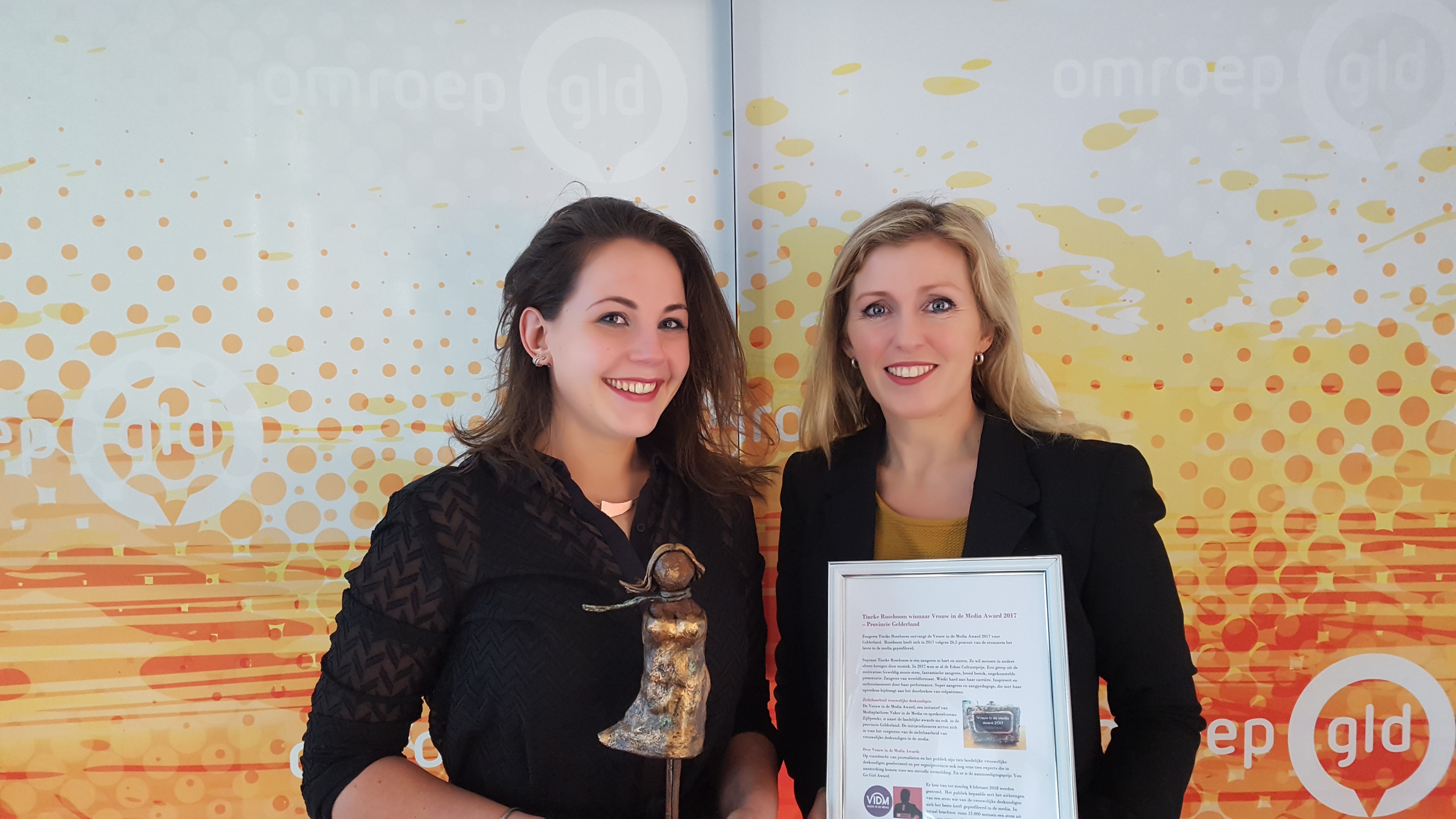 vrouw in de media Award